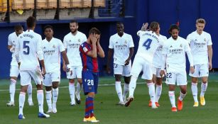 Real Madrid: Derrotó al Levante y se coloca en la cima de la tabla general
