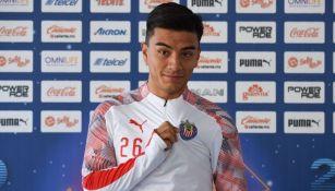 Fernando Beltrán jugador de Chivas