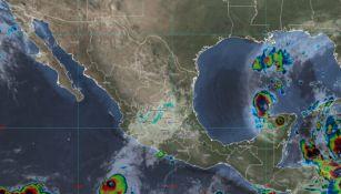 Huracán Delta llega a Quintana Roo