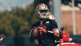 49ers: Jimmy Garoppolo volvió a los entrenamientos con San Francisco