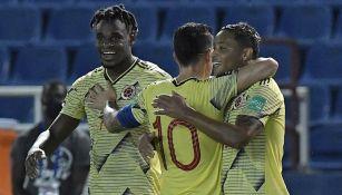 Colombia venció 3-0 a Venezuela