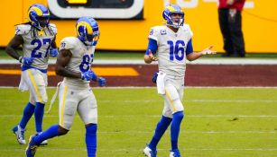 Jared Goff en encuentro ante Washington