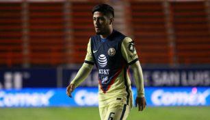 América: Sergio Díaz volvió a tener actividad y jugó con la Sub 20