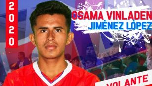 Osama Vinladen Jiménez jugará en el Unión Comercio