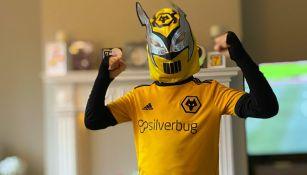 Raúl Jiménez: Niño pidió disfrazarse del delantero mexicano para su cumpleaños