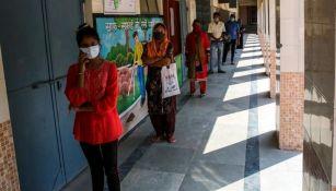 Aumentan los casos de coronavirus en India