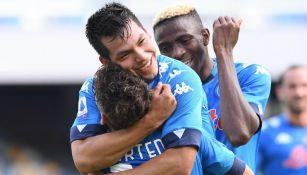 Chucky Lozano: Napoli, sin casos positivos de Covid-19 previo a juego de Europa League