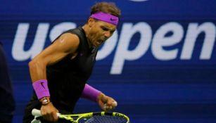 El tenista español en un partido
