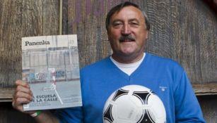 Antonín Panenka, histórico exfutbolista checo