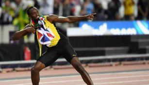 Usain Bolt en competición