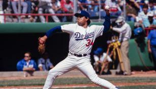 Fernando Valenzuela en su paso por Dodgers