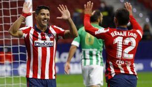 Atlético de Madrid ganó al Betis