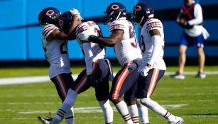 Chicago Bears durante su último enfrentamiento