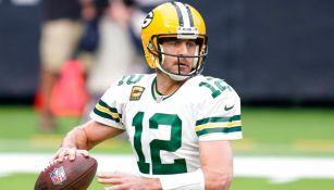 Aaron Rodgers fue la figura de los Packers ante Texans