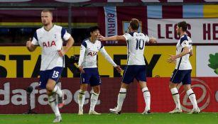 Tottenham festeja anotación del triunfo