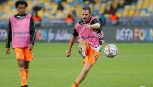 Juventus: Leonardo Bonucci no tiene lesiones musculares y podría jugar ante Barcelona