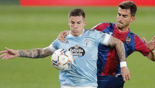 Néstor Araujo: Disputó los 90 minutos en empate del Celta de Vigo con el Levante