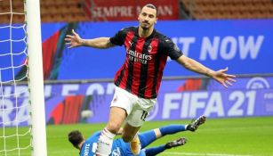 Zlatan Ibrahimovic volvió a marcar con el Milan