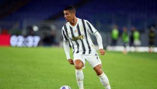 Cristiano Ronaldo en un partido con Juventus