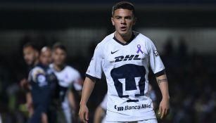 Marco García, jugador de Pumas