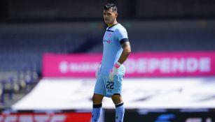 Luis García en partido con Toluca