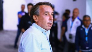Emilio Azcárraga en un partido del América en 2019