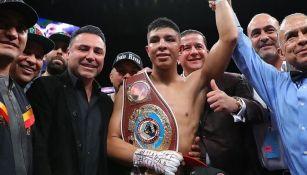 Jaime Munguía venció a Johnson en seis asaltos