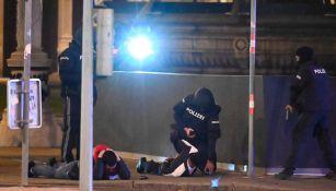 Policía de Austria detiene a un sospechoso