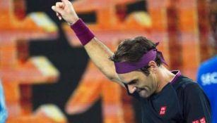 Roger Federer, tras ganar un encuentro