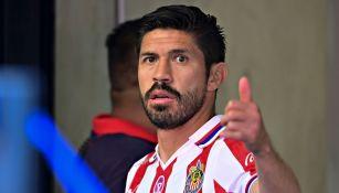 Oribe Peralta con Chivas