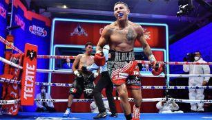 Miguel Berchelt tras una pelea