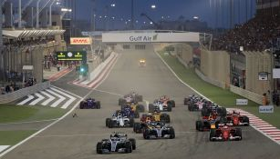 Una de las carreras de Fórmula Uno en Bahrein