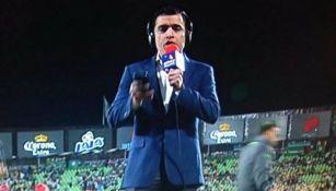 Gerardo Melín en transmisión