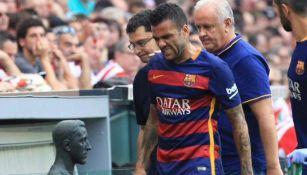 Dani Alves: 'Barcelona no tuvieron hue... conmigo'