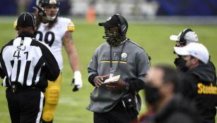 NFL: Steelers y Mike Tomlin, su head coach, fueron multados por uso de cubreocas