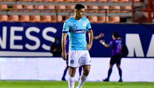 Berterame durante un partido con el Atlético de San Luis