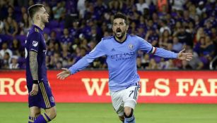 David Villa en su paso por el New York City FC