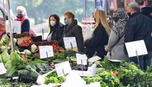Un mercado en Italia