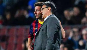 Messi: Gerardo Martino descartó haber tenido diferencias con La Pulga