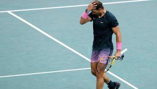 Rafael Nadal en partido