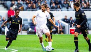 Rodolfo Pizarro en partido con Inter Miami