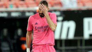 Real Madrid: Karim Benzema, lesionado del aductor izquierdo