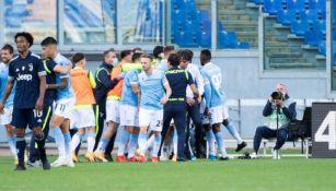 Juventus: Cedió el empate en el minuto 95 ante la Lazio