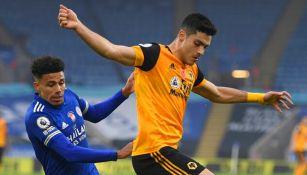 Raúl Jiménez: Wolves cayó ante Leicester, nuevo líder de la Premier League