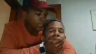 Video: Maestro sufrió asalto en transmisión en vivo