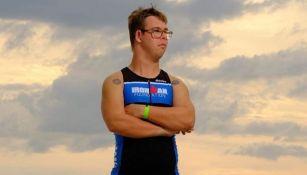 Chris Nikic en el Ironman de Florida