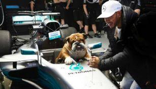Hamilton y Roscoe en evento