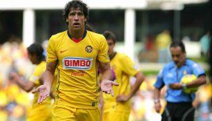 Sebastián Domínguez como jugador del América