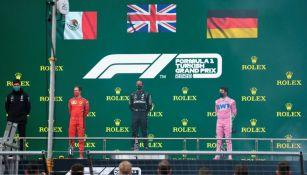 Error en el podio del GP de Turquía