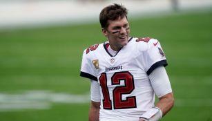 Tom Brady en un partido con Tampa Bay